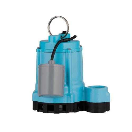 Little Giant® 9EN Sump Pump, 45 gpm, 4/10 hp, Cast Iron