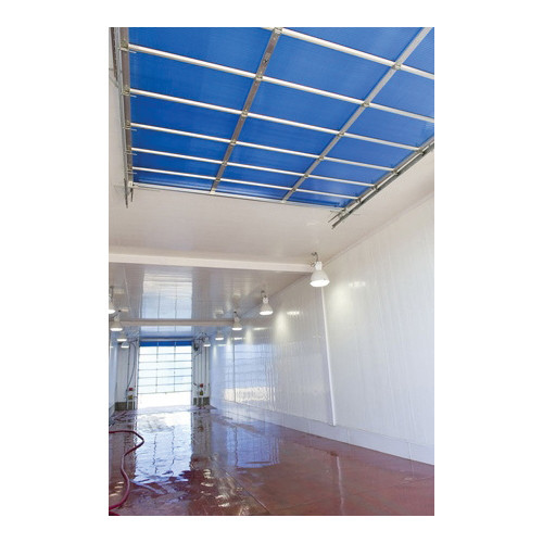TRUSSCORE™ PVC Wall and Ceiling Panel, 8 ft L x 16 in W x 1/2 in THK