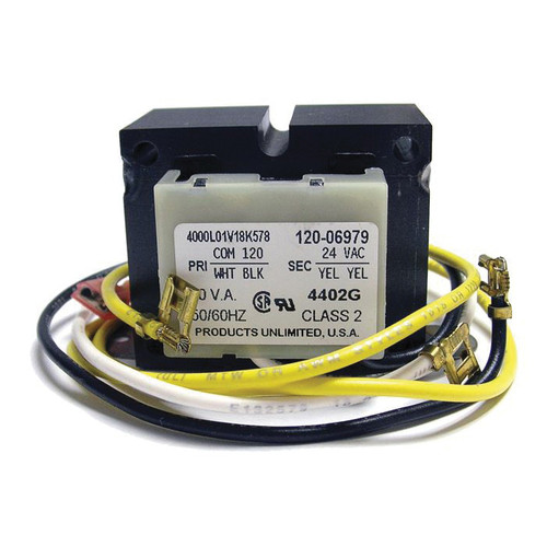 L.B. White® Transformer, 120/24 VAC