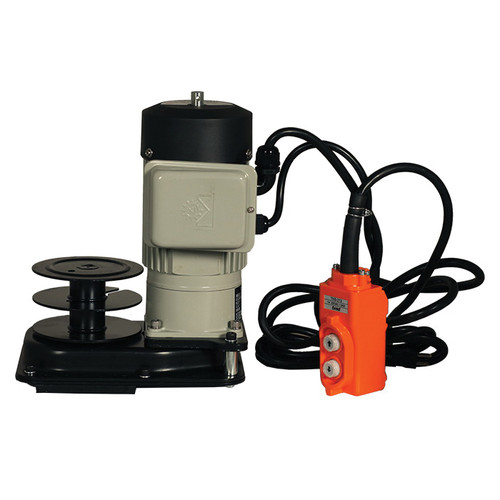 Electric Winch, 5000 lb Load, 110 to 115 VAC