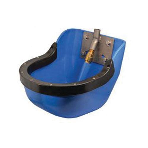 Large PVC Livestock Bowl with Splash Guard