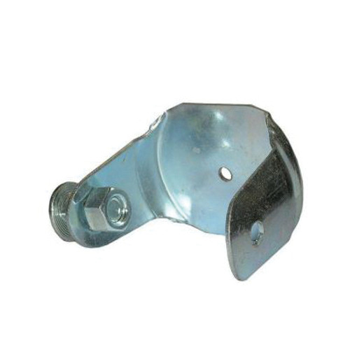 End Cap With Mounting Bolt, For Use With Key-Hole™ Track and Sliding Door System, Steel