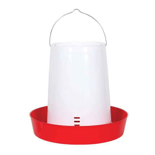 Brower® Polyethylene Hanging Feeder, 30 lb, 15-1/2 in H