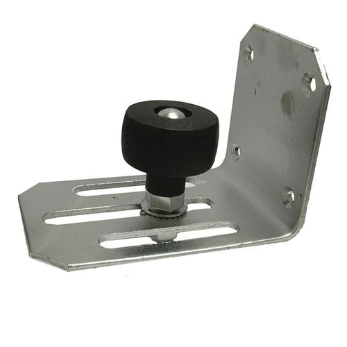 Adjustable Offset Stay Roller, For Use With Sliding Door, 5/16 to 29/8 in Door Adjustment, Steel