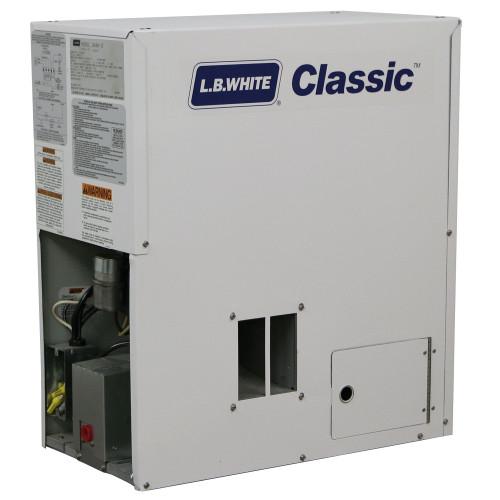 L.B. White® Classic™ 1-Phase Pilot Forced Air Heater, 60000 Btu/hr, 115 VAC, 60 Hz, LP Gas