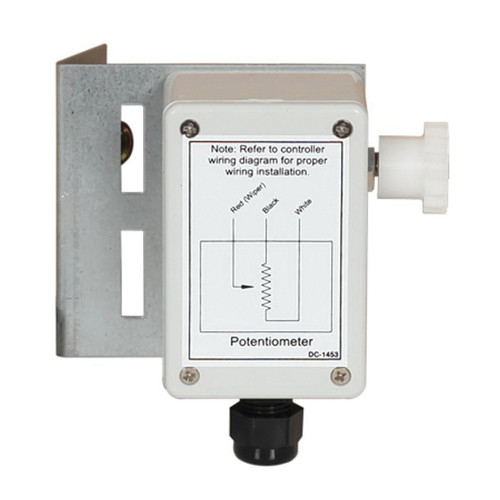 Potentiometer with 1 Inch Gear
