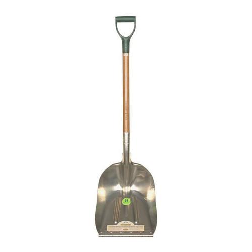 Heavy Duty Aluminum Shovel 12 In x 36 In Handle