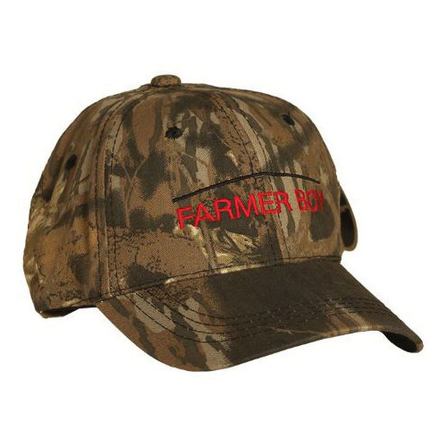 Camo Full Back Hat with Adjustable Closure