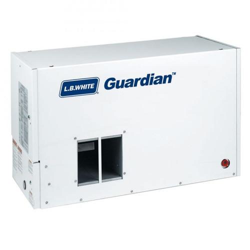 L.B. White® Guardian® 1-Phase Box Air Heater, 50000 to 100000 Btu/hr, 115 VAC, 60 Hz, 1/8 hp, LP Gas
