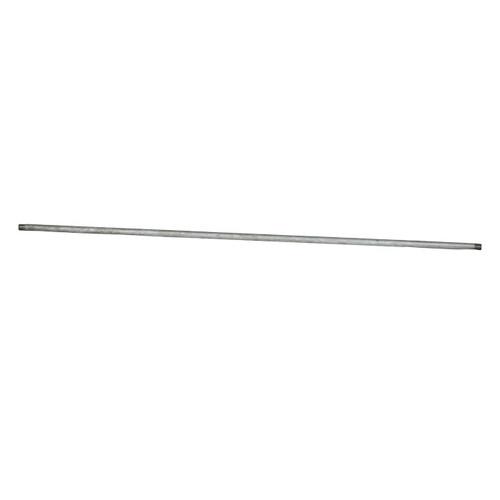 Lead Free Straight Pipe Nipple, 1/4 in, MNPT, Steel, Galvanized