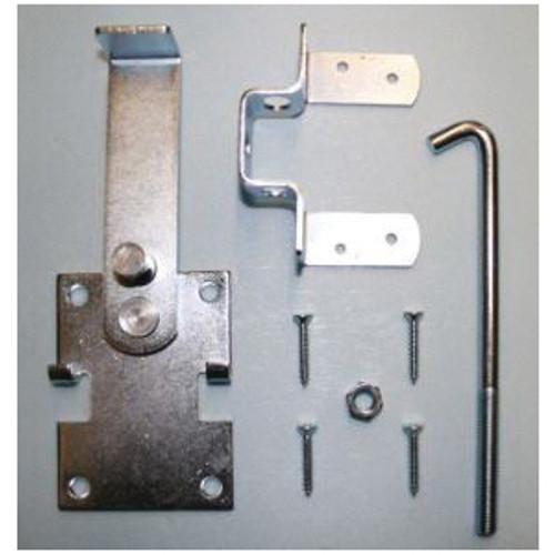 Adjustable Heavy Duty Door Jamb Latch With 7 in Hook