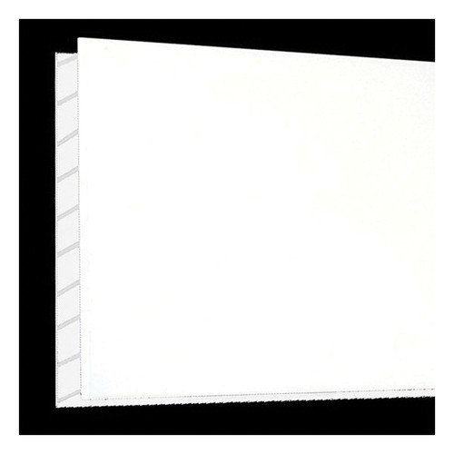 Duro-Therm™ Fluted Lightweight Wall Panel, 4 ft L x 8 ft W x 15/32 in THK, Polymer, White