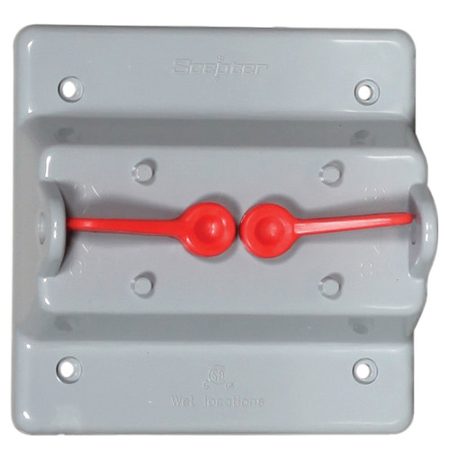 Old Style Weatherproof PVC Toggle Switch Cover