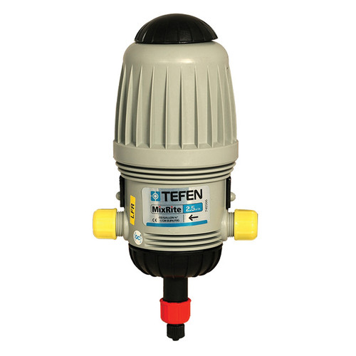 Tefen MixRite Medicator - 2501 LFR Injector, 0.03 to 11 gpm, 3/4 in Connection, 2.9 to 120 psi