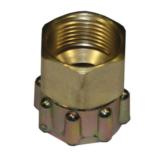 3/4 in FGHT x 3/4 in FNPT Brass Adapter Connector