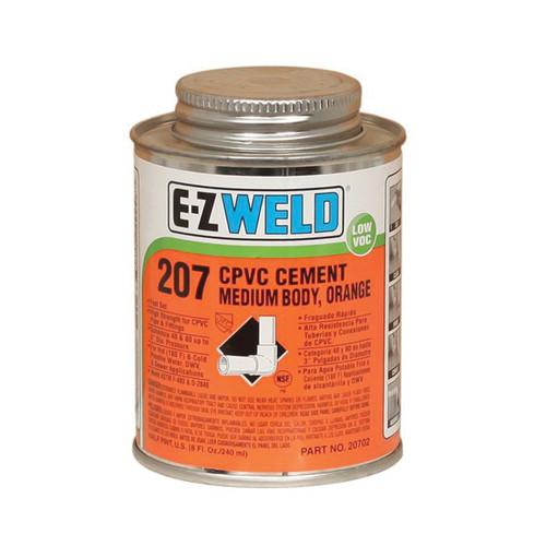 E-Z WELD® Medium Body Solvent CPVC Cement, 8 oz