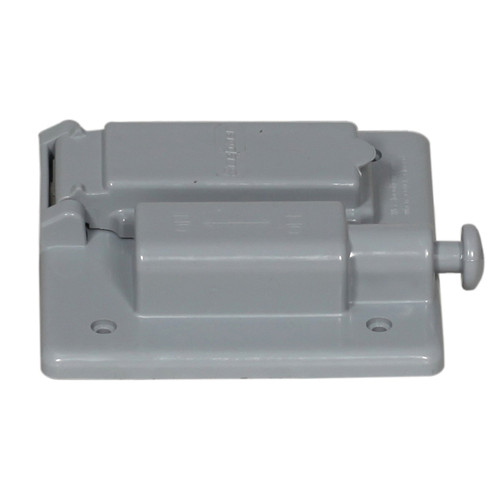 Combination Old Style Weatherproof PVC Switch and Duplex Receptacle Cover
