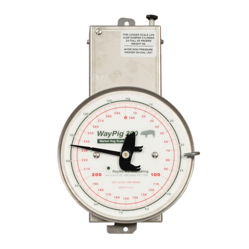 WayPig® Replacement Scale Head, For Use With WayPig® AH 300 300 lb Market Hog Scale