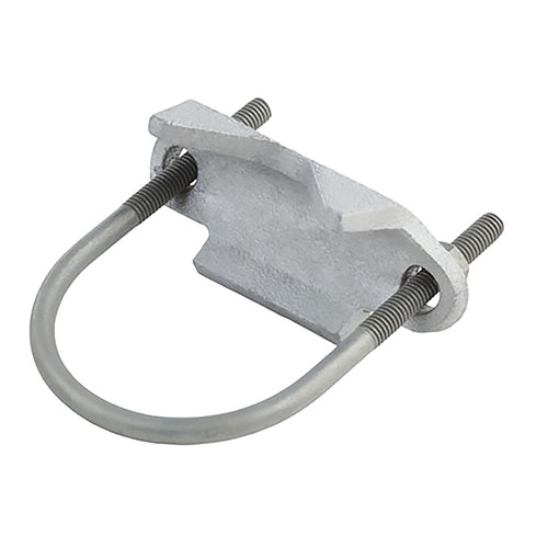 Clamp Type K Right Angle Clamp, 3/4 in Conduit, Malleable Iron