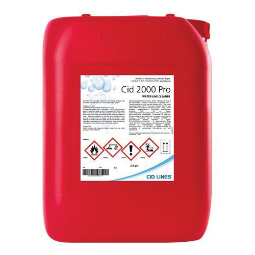 BVS CID 2000™ Cleaner, 2.6 gal Tank, Pungent Odor/Scent, Clear, Mixture