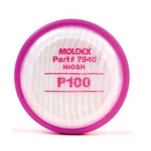 Moldex® P100 Cartridges for Model 7000 Mask 2-Pack