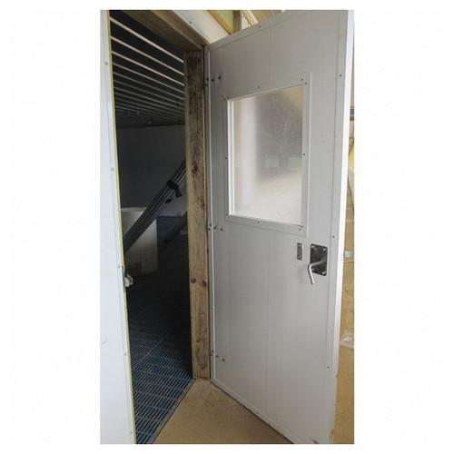 MSW Swinging PVC Door With Window