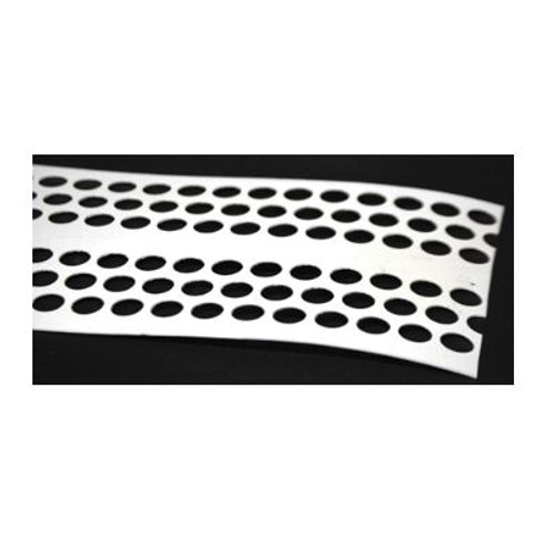 Poly Perforated Egg Belt, 8 in x 820 ft L x 52 mil THK