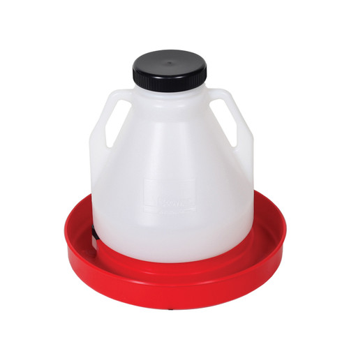 Brower® 4 Gallon Poly Fountain with Lid