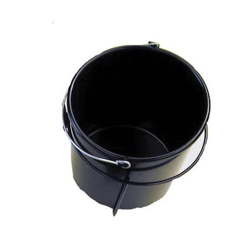 Heavy Duty 10 Qt Black Utility Pail