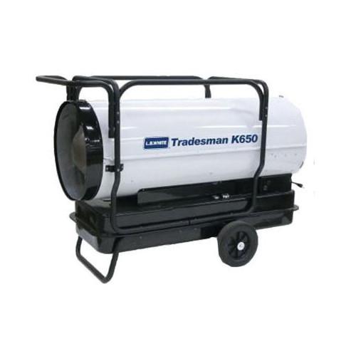L.B. White® Tradesman® Portable Forced Air Heater, 650000 Btu/hr, 7.1 A, 3/4 hp