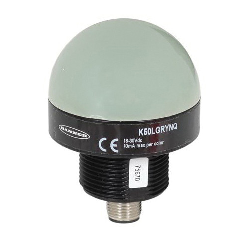 Agri-Plastics LED Compident Bulb, For Use With CID 7 Feeder, Green/Yellow Light