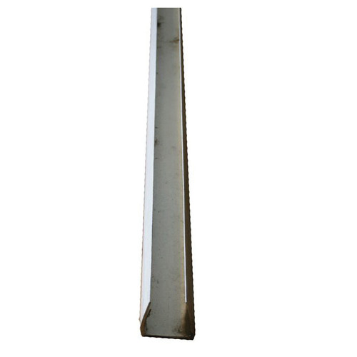 AP PVC U-Channel for Creep Panel, 1-1/2 in x 20 ft