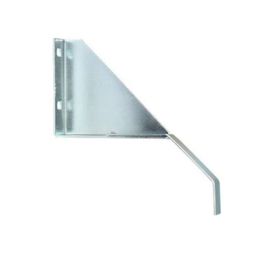 Double Track Bracket With Cover Retainer, For Use With Sliding Door, Steel