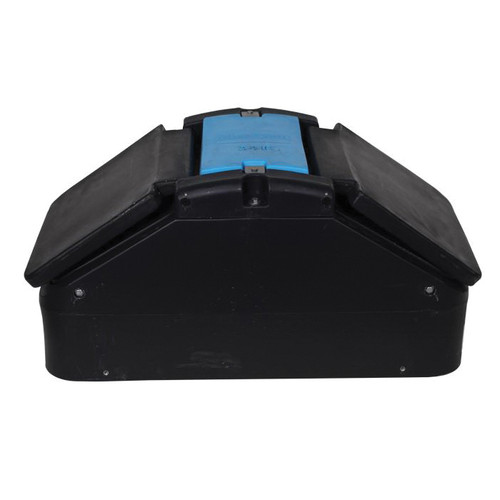 Miraco MiraFount 3410 2-Hole Lift-Up Lid Watering Trough, 100 Market Hogs/50 Sows