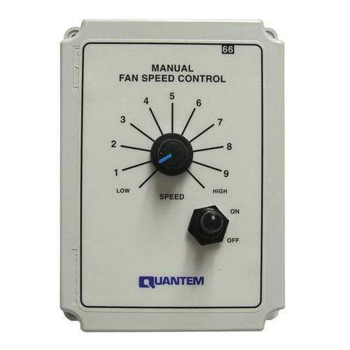 Quantem® Dual Voltage Manual Fan Control
