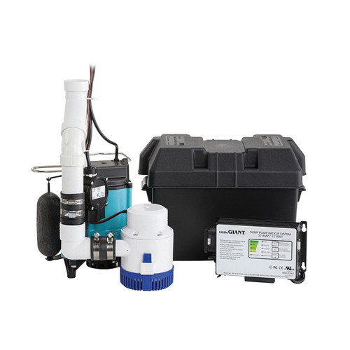 Little Giant® Submersible 1/2 HP Pump