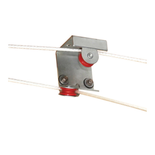 Double Bracket Pulley for Tunnel Doors