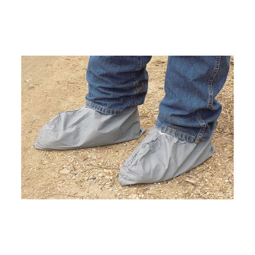 Gray Poly Disposable X-Large Shoe Cover 100 Pair