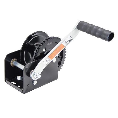 Dutton-Lainson® Standard Winch With Handle, 1100 lb Load, Zinc TUFFPLATE