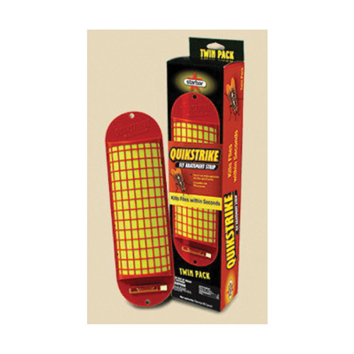 Starbar® QuikStrike® Fly Abatement Strip, Liquid, Yellow, Chemical Like
