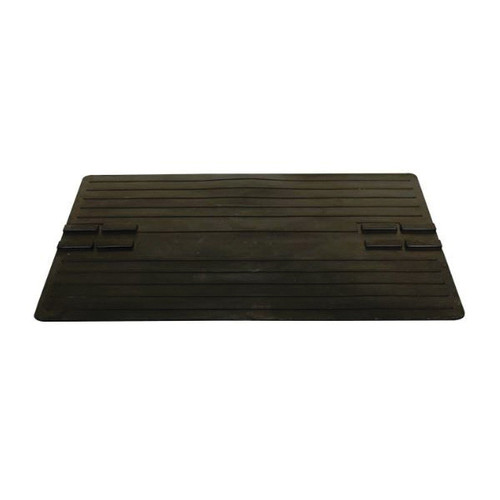Rubber Farrowing Mat, 28 in L x 42 in W, Nyracord Rubber