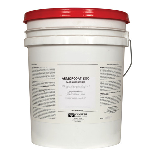 ARMORCOAT™ Epoxy Base Kit, 15 gal, 50 to 140 sq-ft, Clear