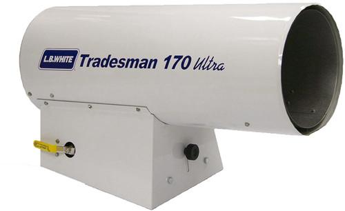 L.B. White® Tradesman® Portable Forced Stackable Air Heater, 125000 to 155000 Btu/hr, 115 VAC, 1/3.7 A, Natural Gas