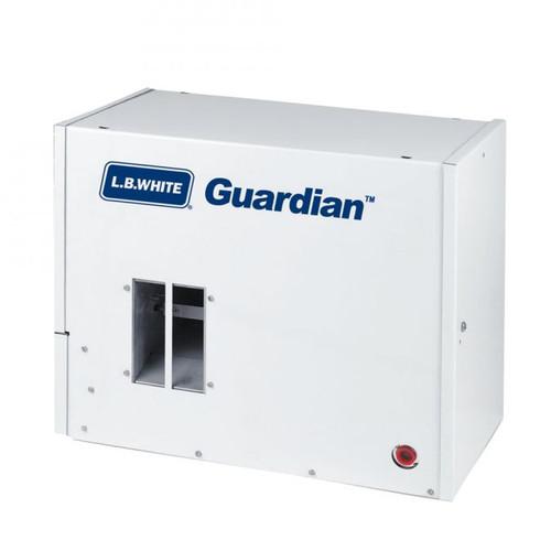 L.B. White® Guardian® 1-Phase Box Air Heater, 30000 to 60000 Btu/hr, 115 VAC, 60 Hz, 1/15 hp, Natural Gas