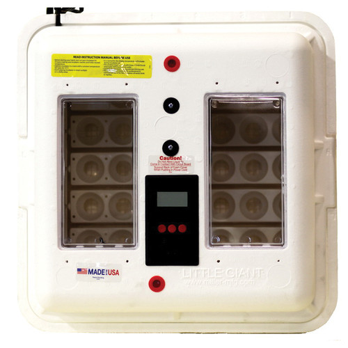Little Giant® Deluxe Incubator With Fan and Turner