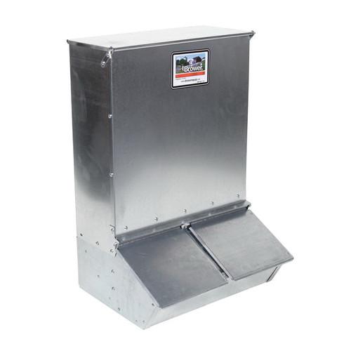 Brower® 2-Door Hog Feeder, 3.7 Bushel