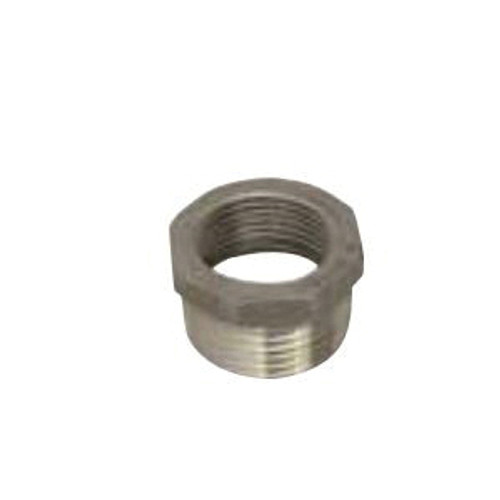 Stainless Steel 1/2 x 3/8 Inch Hex Bushing
