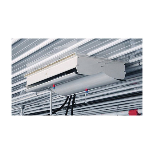 AP® ACI-4000 2-Way Actuated Ceiling Mount Attic Air Inlet With Plastic Frame, 46-1/2 in L x 19 in W