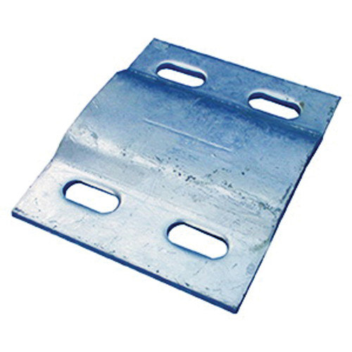 Galvanized Back Plate for Adjustable Galvanized Pipe