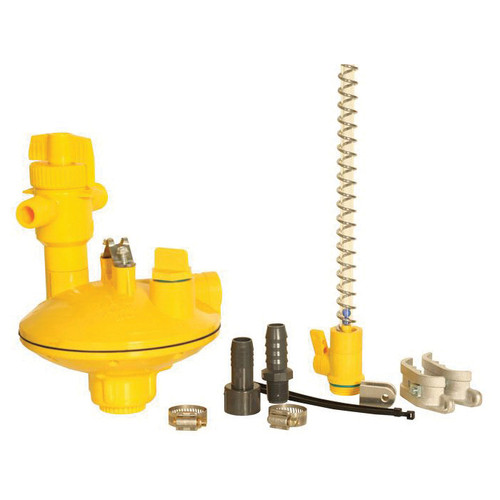 VAL-CO® Regulator Kit With 24 in Flexible Pipe